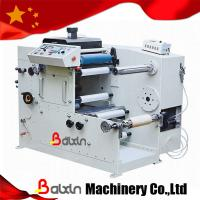 Buy cheap 1 Color Letterpress Label Printing Machine with Die Cuting Part from wholesalers