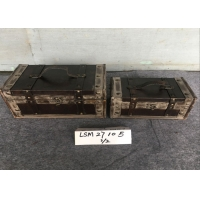 Buy cheap Household Sundries L27x20x16 Treasure Chest Storage Trunk from wholesalers