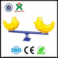 Buy cheap Park equipment outdoor kids seesaw/Attractive Kids Plastic Outdoor Seesaw for Kids QX-096C from wholesalers