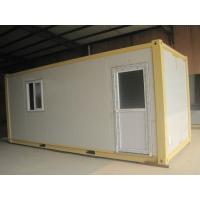 Buy cheap Standard Type Container Modular House Galvanized Steel Frame For Temporary Building from wholesalers