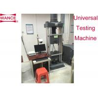 Buy cheap Strand Steel Wire Tensile Testing Machine With Extra Long Jaw Face ASTM A416 Standard from wholesalers