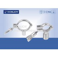 Buy cheap SS304 heavy duty clamp pipe holder / tc clamp / pipe with Thread or Bar from wholesalers