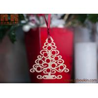 Buy cheap Wooden Christmas tree Set of 6 wooden Christmas tree toy plywood Christmas gifts Tags from wholesalers