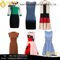 Buy cheap Custom New Style Fashion Dresses Women Lady Design Chic Sexy Dress from wholesalers