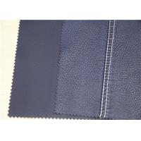 Buy cheap Durable PU Coated Leather Anti - Mildew , Polyurethane Faux Leather Fabric from wholesalers