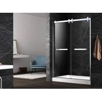 Buy cheap Hinge tempered glass shower doors,unique hinge shower door,tempered shower enclosure from wholesalers