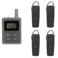 Buy cheap 100 Channel E8 Ear Hanging Wireless Tour Guide System , Simultaneous Translation Equipment from wholesalers