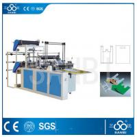 Buy cheap Double Lines Plastic Bag Making Machine 100pc/min For Convenient Bag from wholesalers