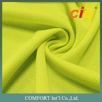 Buy cheap 100% Polyester Quick Dry Mesh Fabric For Sport Uniform 180gsm Width 150cm product
