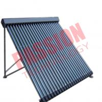 Buy cheap 30 Tubes Pressurized Heat Pipe Solar Collector With Black Aluminum Alloy for House Used from wholesalers