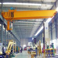 Buy cheap Electric Top Running Overhead Crane / Automated Long Monorail Overhead Crane from wholesalers