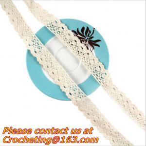 China Cotton Lace Accessories Lace Decorative Lace HomeTextile Trim COTTON/CLUNY CROCHET LACE on sale