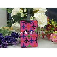 Buy cheap Custom plane luggage tag for airline company promotional luggage tag travel agent souvenir gifts luggage tag from wholesalers