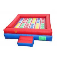 Buy cheap 0.55mm PVC Inflatable Sports Arena , Giant Inflatable Games High Tensile Strength from wholesalers