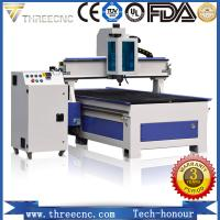 China High precision wood design cnc machine price for cutting and engraving nonmetal material. TM1325A. THREECNC on sale