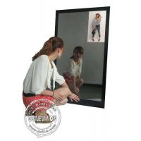Buy cheap 13.3 Inch Magic Mirror Advertising Player , Bathroom Body Motion Sensor Mirror Media Player Android from wholesalers