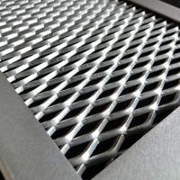 Buy cheap Diamond Expanded Wire Mesh Plate Galvanized Painting Aluminum Light Weight from wholesalers