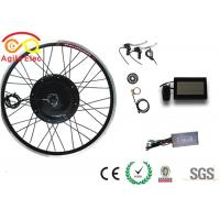 Buy cheap High Speed Electric Powered Bicycle Kit , Rear Hub Electric Bike Kit With LCD Display from wholesalers