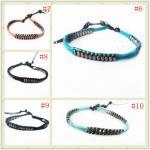 Buy cheap OEM Handmade Leather Cord Wrap Bracelet, Wrap Bracelet For Men, Women, Boy, Girl from wholesalers