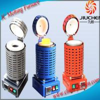 Buy cheap 1-4kg Electric Gold Melting Furnace Mini Gold Melting Furnace with Crucible and Tongs from wholesalers