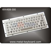 IP65 Vandal - proof Industrial Metal Keyboard for InternetKiosk , SS Keyboard