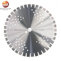 Buy cheap Laser Welding Diamond Blade for Concrete Dry Cutting with Short Segments from wholesalers