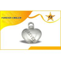 Buy cheap Low Cadmium , Nickel Free Plating Custom Metal Charms Tag / String With Lobster Hook from wholesalers