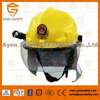 Buy cheap Firemen protection helmets with neck protection from wholesalers