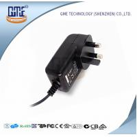 Buy cheap TV Set AC DC Power Adapter UK Plug Wall Mount 550mA max Input current from wholesalers