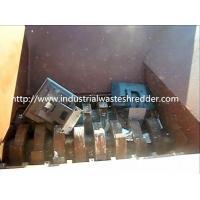 Waste Computer Four Shaft Shredder Low Labor Intensity For Coarse Shredding