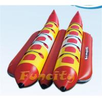 Buy cheap Durable Towable Inflatable Banana Boat For Exciting Aqua Park Games from wholesalers