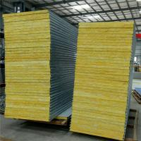 Buy cheap 50mm fiber glass wool fireproof sandwich panel 5950x 960mm for roofing from wholesalers