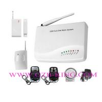 Buy cheap GSM Auto-Dia home Alarm System with 99 wireless zones and 7wired product