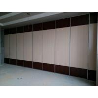 Buy cheap 100 mm Thickness Banquet Hall Movable Wall Board / Folding Sliding Partition Walls from wholesalers