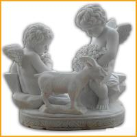 Buy cheap Children Angel Stone Marble Statue from wholesalers