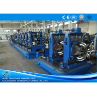 Buy cheap Flattening Welded Tube Mill 8mm , Friction Saw Industrial Tube Mills from wholesalers