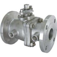 Buy cheap Heat Preservation Jacket Insulation floating type ball valve With Lever Operator from wholesalers