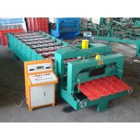 Buy cheap Auto Cutting Glazed Tile Machine / Corrugated Roofing Sheet Making Machine 1.2 Inch Chain from wholesalers