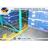 Buy cheap Perishable Goods Gravity Feed Pallet Racking , Double - Deep Gravity Flow Shelving Systems from wholesalers