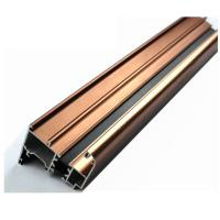 Buy cheap 6063 U Shaped Aluminium Profile , Mechanically Polished Aluminium Corner Profile Joint from wholesalers