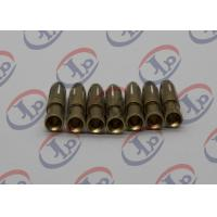 Buy cheap Swiss Fininshing Brass Machined Parts Both Ends Straight Hole Brass Female Pins from wholesalers