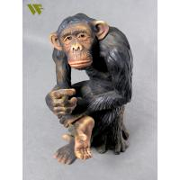 Buy cheap Vivd animal monkey shop display product