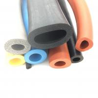 Buy cheap High Quality Custom Silicone Foam Extrusion Sponge Tube from wholesalers