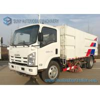 Buy cheap 6 Wheeler Isuzu Road Sweeper Truck 6000KG Street Cleaning Vehicles 4 X 2 Truck from wholesalers