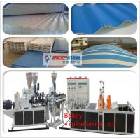Buy cheap PVC corrugated roof sheet making machine / PVC Corrugated Tile Production Line from wholesalers