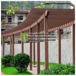 Buy cheap Customized Outdoor Wood Plastic Pergola Garden Park Composite WPC Pergola from wholesalers