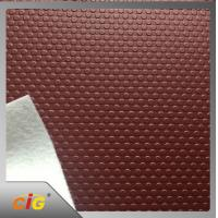 Buy cheap Waterproof  pu pvc leather Small Circle Design for Auto Car Floor product