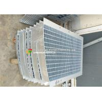 Buy cheap Trench Cover Galvanized Bar Grating High Bearing Anti - Corrosion Special Shape product