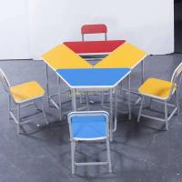 Buy cheap Colorful Kid Children Study Desk and Chair Combination Table from wholesalers