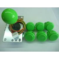 Buy cheap USD31.95---SANWA Pack-1 Joystick and  6pcs OBSF30 sanwa push buttons green color from wholesalers